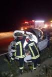 Denizli'de Otomobil Takla Attı Açıklaması 4 Yaralı