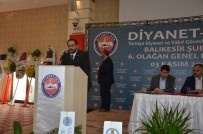 MUSTAFA ÖZTÜRK - Dinayet-Sen'de Mehmet Akif Gerboğa Güven Tazeledi
