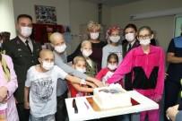 TURGUT ÖZAL - Jandarma Lösemili Çocukların Yüzünü Güldürdü