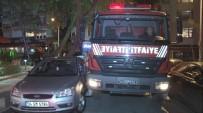 CADDEBOSTAN - Kadıköy'de 14 Katlı Apartmanda Yangın Paniği