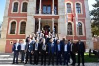 ALT YAPI ÇALIŞMASI - KASİAD Yönetimi Kurulu, Taşköprü İlçesini Ziyaret Etti