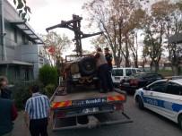 İMİTASYON - Maket Uçaksavarla Trafikte Seyreden Araç Sürücüsü Yakalandı