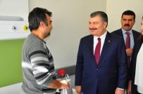 Sağlık Bakanı Koca, Manisa Şehir Hastanesini İnceledi