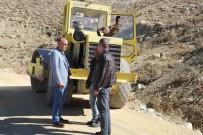Tunceli'de Yollarda Bakım Çalışması