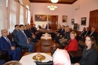 ALI SıRMALı - AK Parti Edremit İlçe Yönetiminden Kaymakam Sırmalı'ya Ziyaret