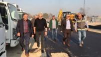 FAHRI ÇAKıR - Başkan Ay, KSS'deki Çalışmaları Yerinde İnceledi