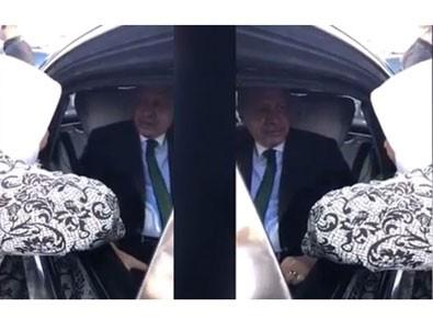 Cumhurbaşkanı Erdoğan'ın fotoğrafçısı paylaştı! Arabayı durdurup...