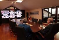 TELEKONFERANS - Cumhurbaşkanı Erdoğan, İstanbul AK Parti İlçe Başkanları İle Telekonferansla Görüştü