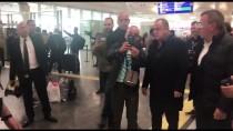 ABDURRAHIM ALBAYRAK - Galatasaray Kafilesi, Almanya'ya Gitti