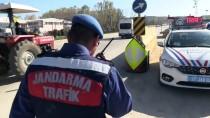Kastamonu'da Helikopter Destekli Trafik Denetimi