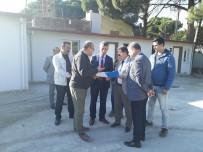 ALI SıRMALı - Kaymakam Ve Belediye Başkanı Kimsesizler Evi Projesini İnceledi