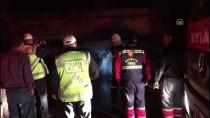 Kırıkkale'de Seyir Halindeki Tırda Yangın Çıktı