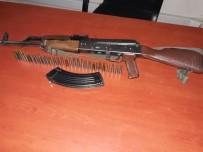 KÖY KORUCUSU - Köy Korucusundan Çaldığı Silahla Yakayı Ele Verdi