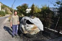MAVIKENT - Kumluca'da Araç Yangını