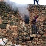 Midyat'ta Ahırda Çıkan Yangında 9 Hayvan Telef Oldu