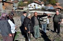 DENIZ PIŞKIN - (Özel) 8 Evin Yandığı, 1 Kişinin Hayatını Kaybettiği Köyde, Vatandaşlar Kışa Evsiz Giriyor