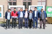 Özel Öğrenciler Ebru Sergisi Açtı