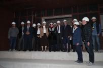 NİKAH SALONU - Şahinbey Kongre Merkezi Hızla Tamamlanıyor