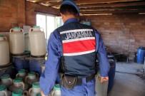KAÇAK ŞARAP - Yaklaşan Yılbaşı Öncesi Jandarmadan Dev İçki Operasyonu
