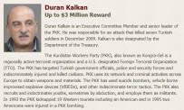 CEMIL BAYıK - ABD, Üst Düzey 3 PKK'lı Terörist İçin 12 Milyon Dolar Ödül Koydu