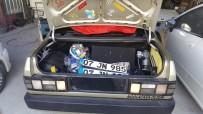 ARAÇ KULLANMAK - Antalya'da Plakasız Otomobille Drift Atıp Kaçan Sürücüye Rekor Ceza