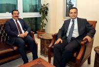 Başkan Atilla'dan Bağlar Kaymakamlığı'na Ziyaret