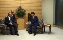 JAPONYA BAŞBAKANI - Çavuşoğlu Abe İle Görüştü