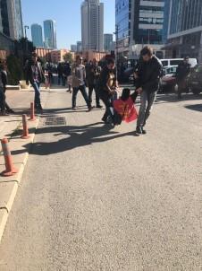 CHP Genel Merkezi önündeki eylemciler gözaltına alındı