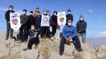 Dağcılar Lösemili Çocuklar İçin Tırmandı