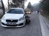 Domaniç'te Trafik Kazası Açıklaması 2 Yaralı