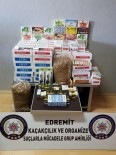 ELEKTRONİK SİGARA - Evrak Kontrolü İçin Gidilen İş Yerinde Kaçak Tütün Ve Makaron Ele Geçirildi