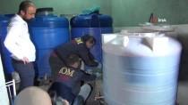 SAHTE İÇKİ - Kaçak Şarap Üretim Merkezi Polisi Bile Şaşırttı
