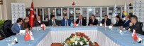 KAZAKISTAN CUMHURBAŞKANı - Kazakistan Büyükelçisi Saparbekuly'den ETSO'ya Ziyaret
