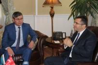 GÜMRÜK VERGİSİ - Kazakistan Büyükelçisi Saparbekuly, Vali Memiş'i Ziyaret Etti