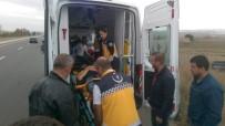 Keşan'da Trafik Kazası Açıklaması 2 Yaralı