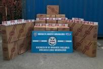 TEM OTOYOLU - Kocaeli'de 77 Bin 500 Paket Kaçak Sigara Ele Geçirildi