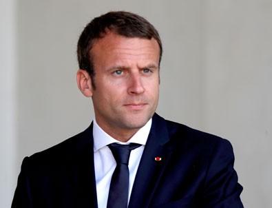 Macron'a suikast girişimi!