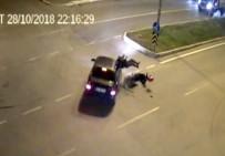 Motosikletten Fırlayan Sürücü Kafasını Kaldırıma Çarparak Öldü