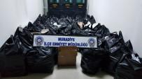 Muradiye'de 26 Bin 396 Paket Kaçak Sigara Ele Geçirildi