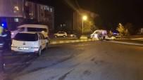 Otomobilin Çarptığı Cip Takla Attı Açıklaması 2 Yaralı
