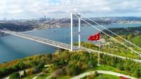 İSTANBUL BOĞAZI - (Özel)İstanbul'da Mest Eden Sonbahar Manzarası Havadan Görüntülendi
