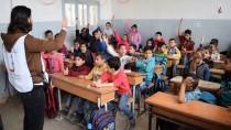 KIZAMIK AŞISI - Suriye'de Çocuklara Aşı Kampanyası