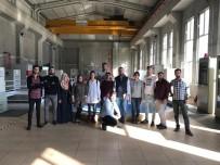 HİDROELEKTRİK - Üniversite Öğrencileri Hidroelektrik Santrale Teknik Gezdi