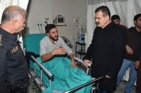 Vali Akbıyık Yaralı Polisleri Ziyaret Etti