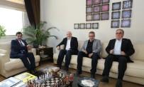 TEVFİK FİKRET - Vali Küçük'ten Bursa Gazeteciler Cemiyeti'ne Veda Ziyareti