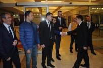 VASIP ŞAHIN - Valisi Vasip Şahin Yeni Görev Yeri Ankara'ya Gitti