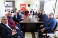 AK Partililerden Kaymakam Avcı'ya Ziyaret