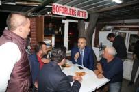 Başkan Aktaş Taksicilere Ulaşım Projelerini Anlattı
