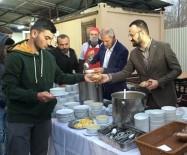 SABAH NAMAZı - Başkan Dişli, Sabah Namazı Sonrası Gençlerle Çorba İçti