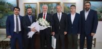 Başkan Saraçoğlu, Sendikanın Yeni Yönetimini Tebrik Etti